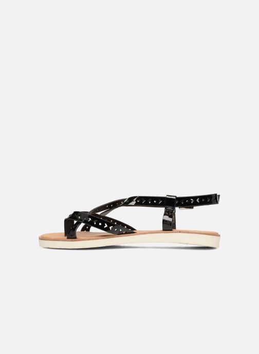 Sandalen Coolway Poppy schwarz ansicht von vorne