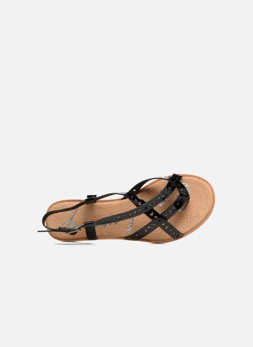 Sandales et nu-pieds Coolway Poppy Noir vue gauche