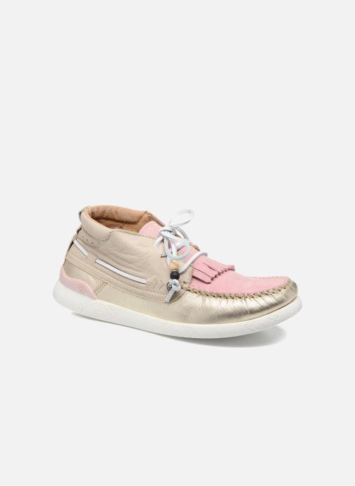 Baskets Dolfie Landom Hi Rose vue détail/paire