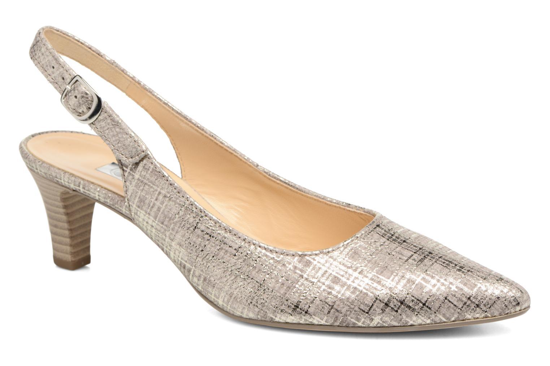 Zapatos de tacón Gabor Napa Plateado vista de detalle / par