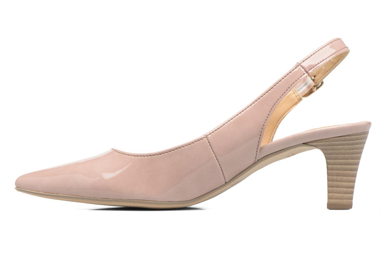 Zapatos de tacón Gabor Napa Beige vista de frente