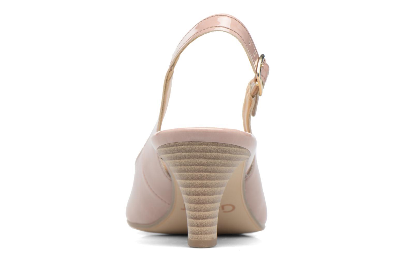 Zapatos de tacón Gabor Napa Beige vista lateral derecha