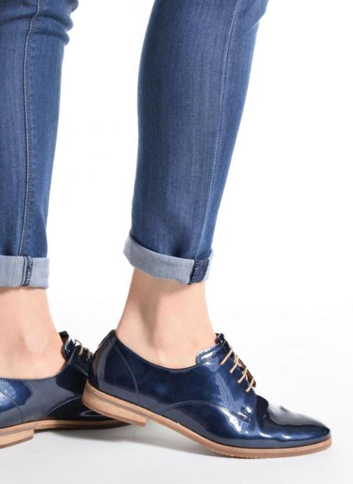 Chaussures à lacets Gabor Napoli Argent vue bas / vue portée sac