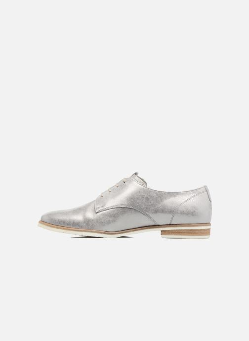 Chaussures à lacets Gabor Napoli Argent vue face