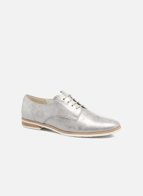 Chaussures à lacets Gabor Napoli Argent vue détail/paire