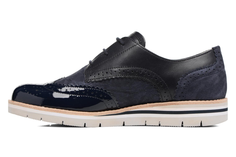 Zapatos con cordones Gabor Florenz 3 Azul vista de frente