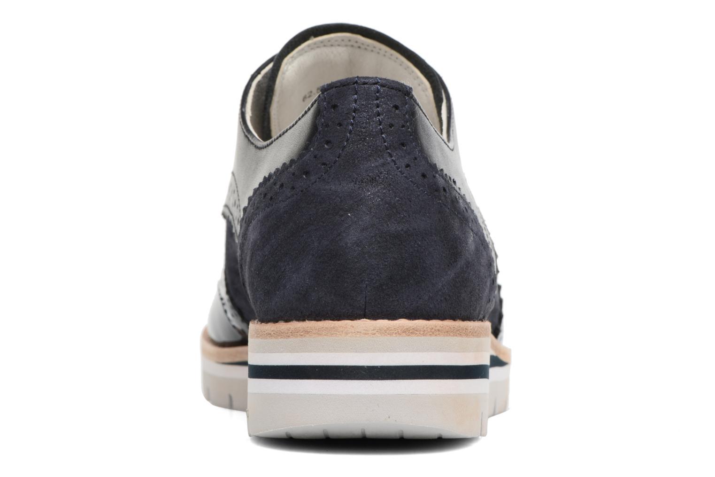 Zapatos con cordones Gabor Florenz 3 Azul vista lateral derecha