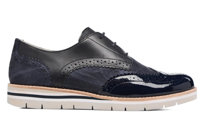 Zapatos con cordones Gabor Florenz 3 Azul vistra trasera