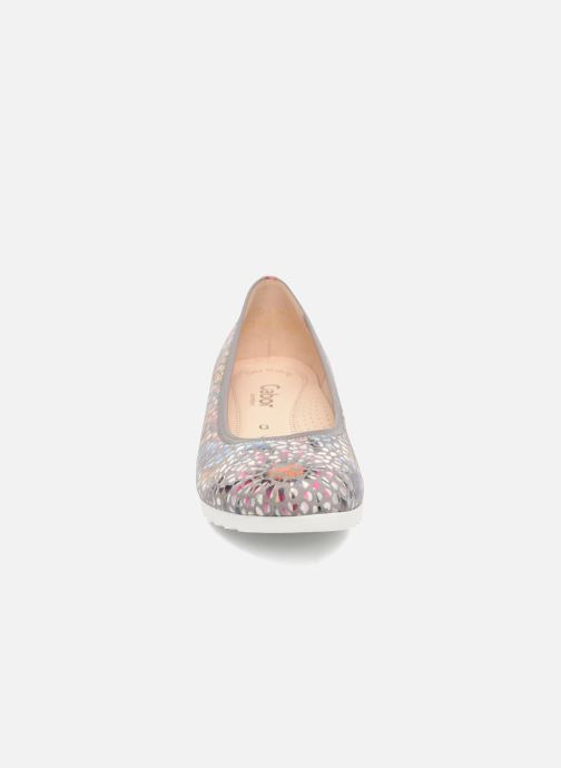 Ballerines Gabor Genua 2 Multicolore vue portées chaussures