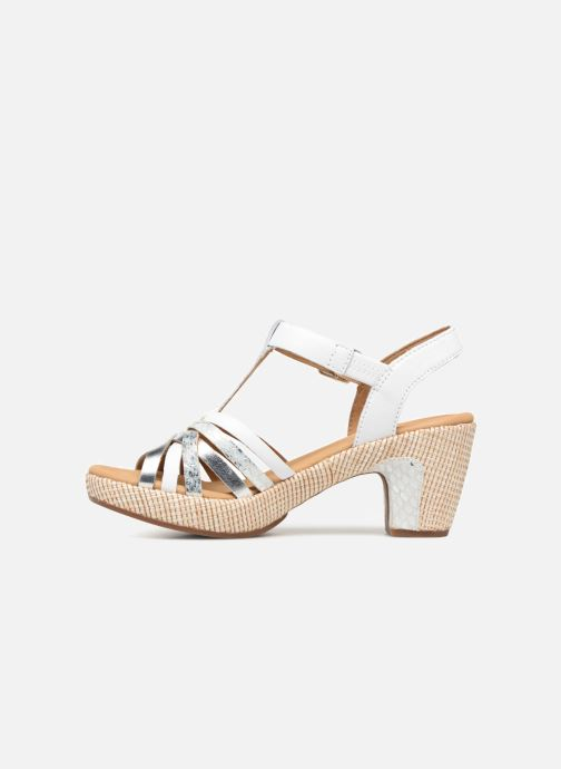 Sandales et nu-pieds Gabor St Tropez 3 Blanc vue face