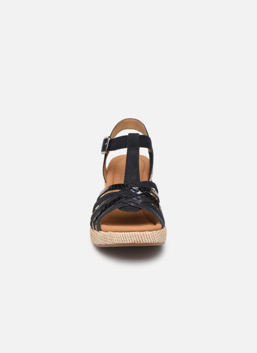 Sandales et nu-pieds Gabor St Tropez 3 Bleu vue portées chaussures