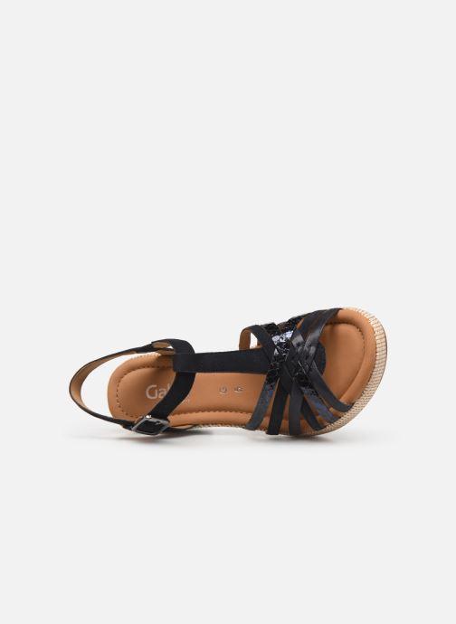 Sandales et nu-pieds Gabor St Tropez 3 Bleu vue gauche