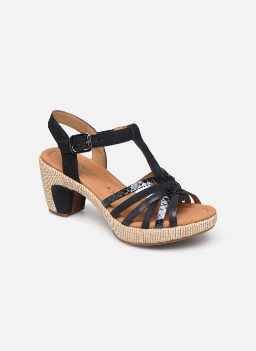 Sandales et nu-pieds Gabor St Tropez 3 Bleu vue détail/paire