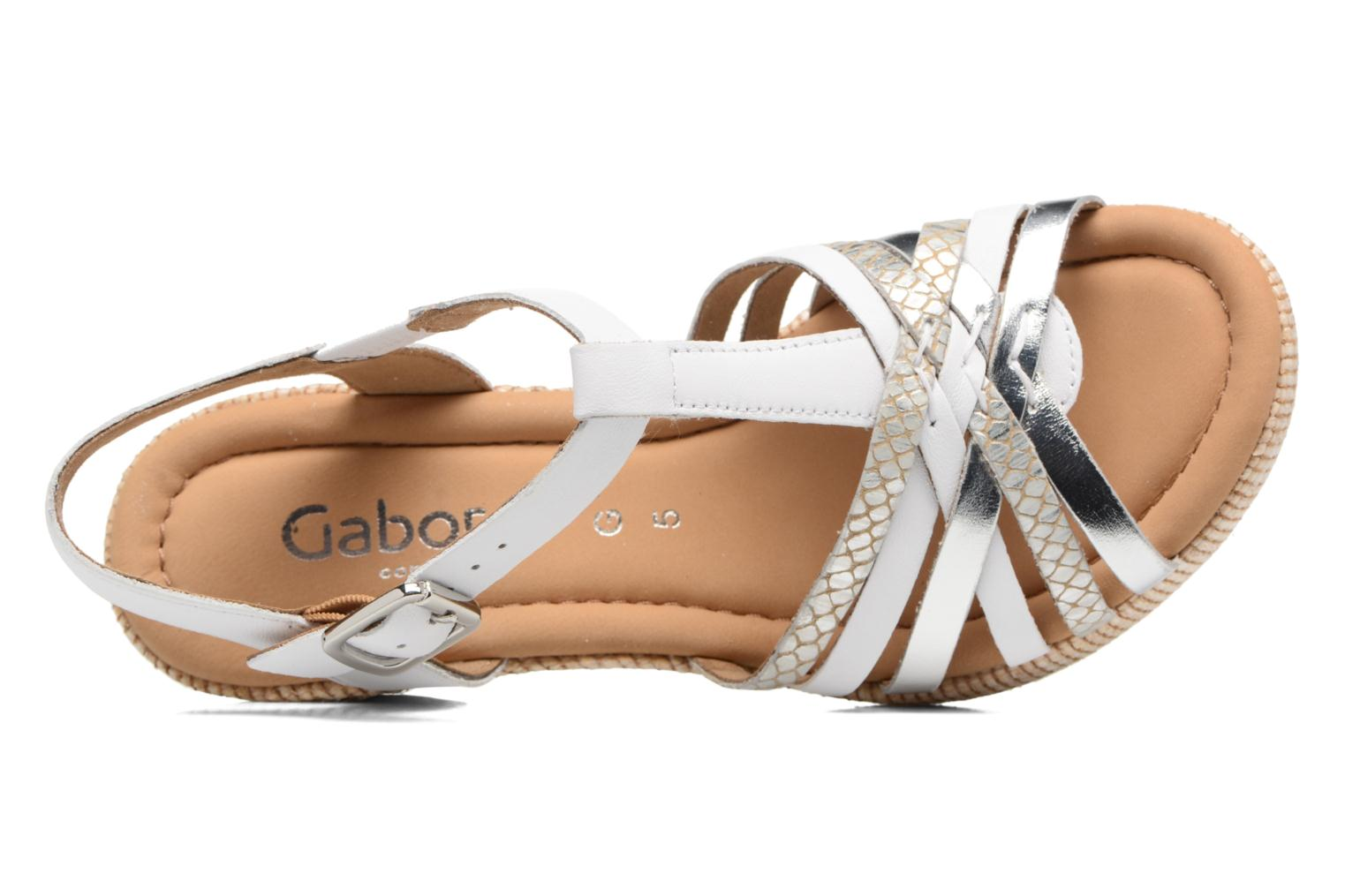 Sandalen Gabor St Tropez 3 Wit links