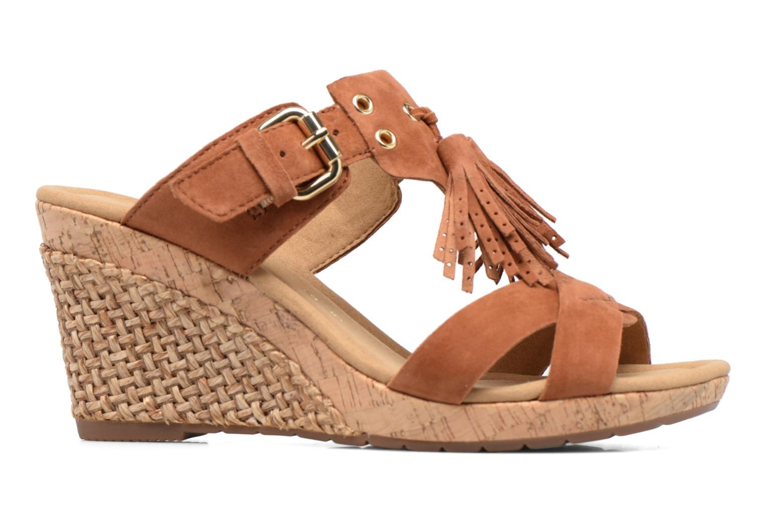 Mules & clogs Gabor Milano 3 Brown back view