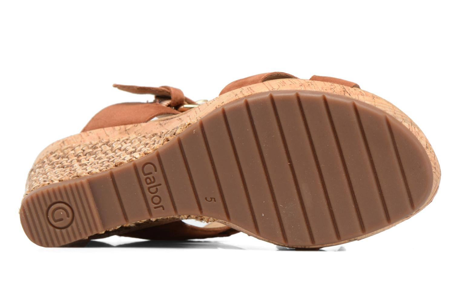 Mules & clogs Gabor Milano 3 Brown view from above