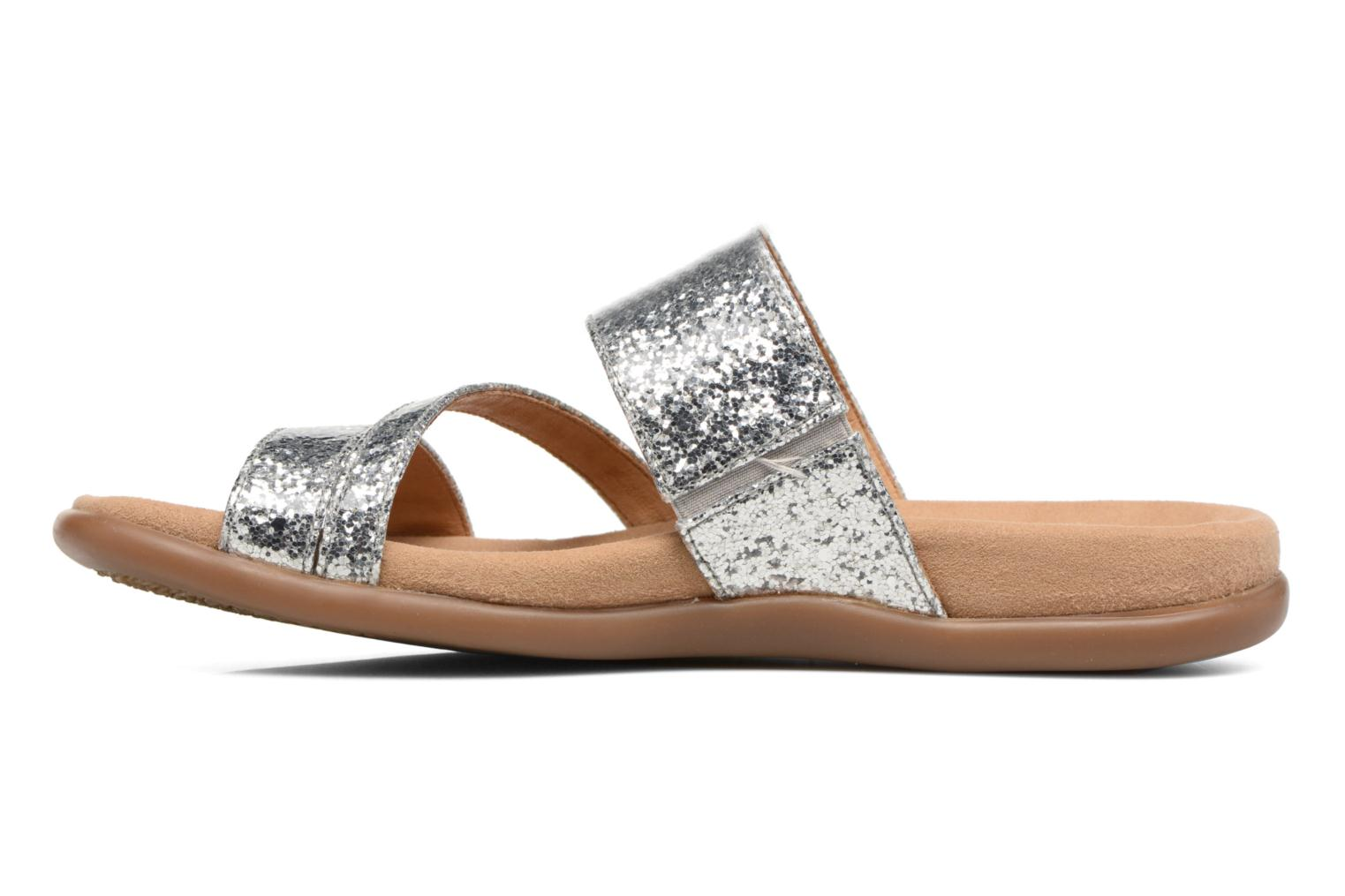Mules & clogs Gabor Salerna Silver front view