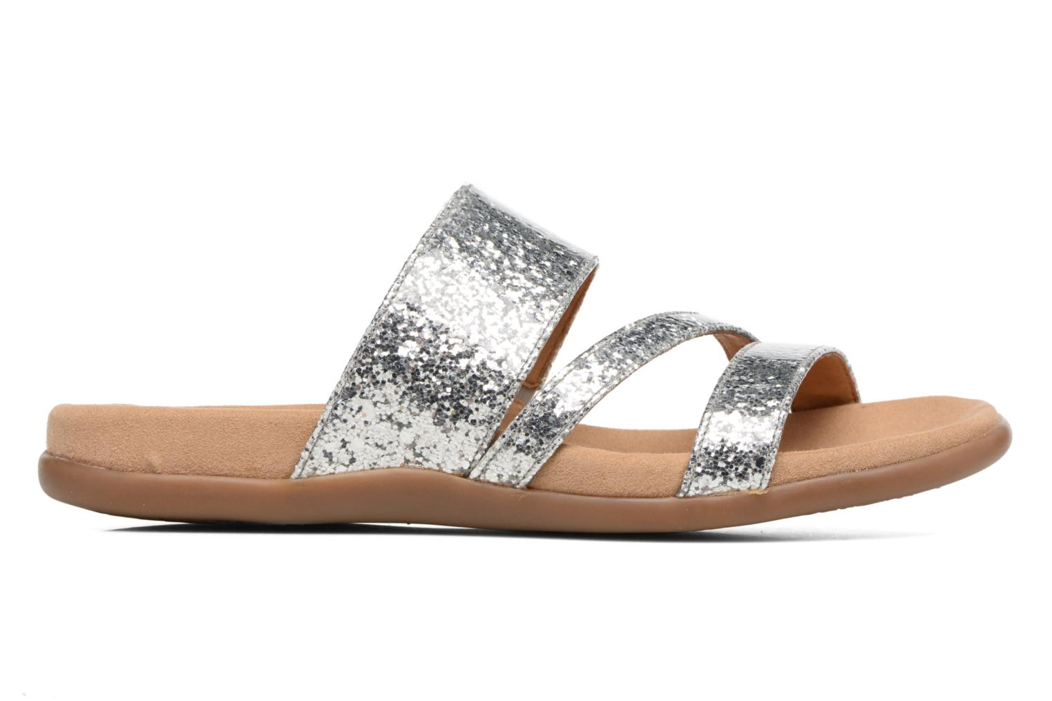 Mules & clogs Gabor Salerna Silver back view