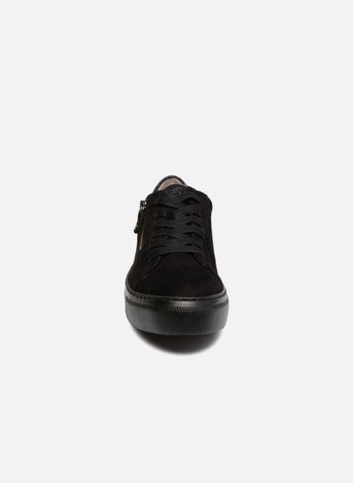 Baskets Gabor Foggia Noir vue portées chaussures