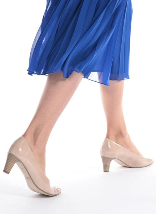 Escarpins Gabor Andria Bleu vue bas / vue portée sac