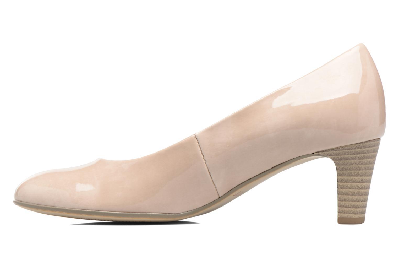 Zapatos de tacón Gabor Andria Beige vista de frente