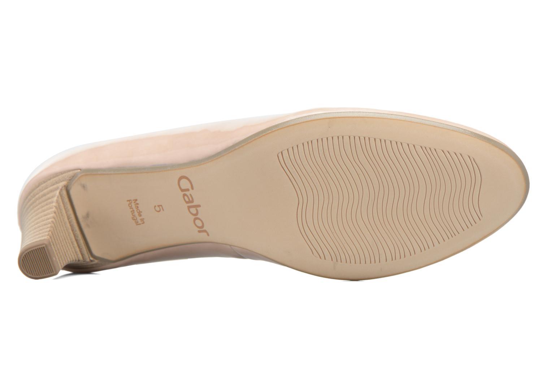 Zapatos de tacón Gabor Andria Beige vista de arriba