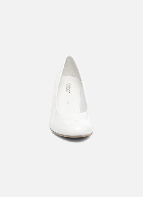 Escarpins Gabor Pesaro Blanc vue portées chaussures