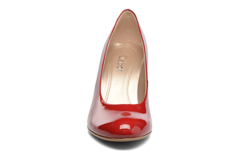 High heels Gabor Pesaro Red model view