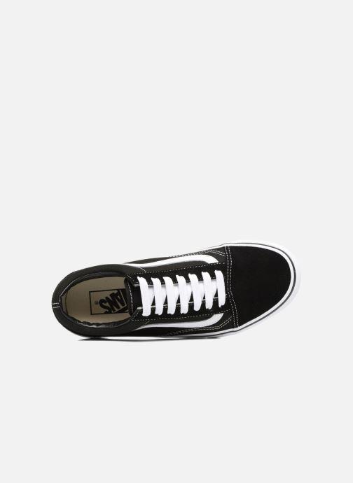 Sneaker Vans Old Skool Platform schwarz ansicht von links
