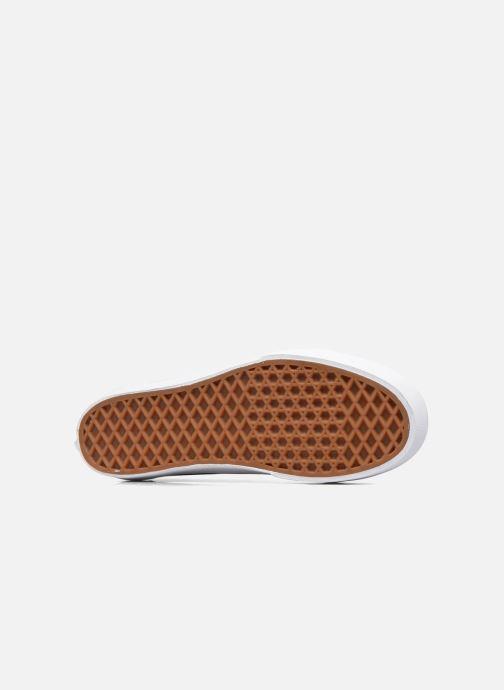 Sneaker Vans Old Skool Platform weinrot ansicht von oben