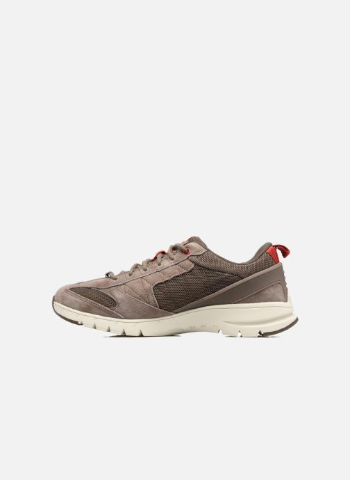 Sneakers Caterpillar Mythos Marrone immagine frontale