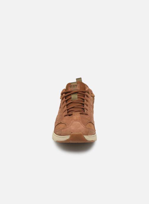 Baskets Caterpillar Mythos Marron vue portées chaussures