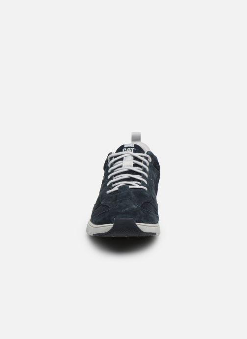 Baskets Caterpillar Mythos Bleu vue portées chaussures