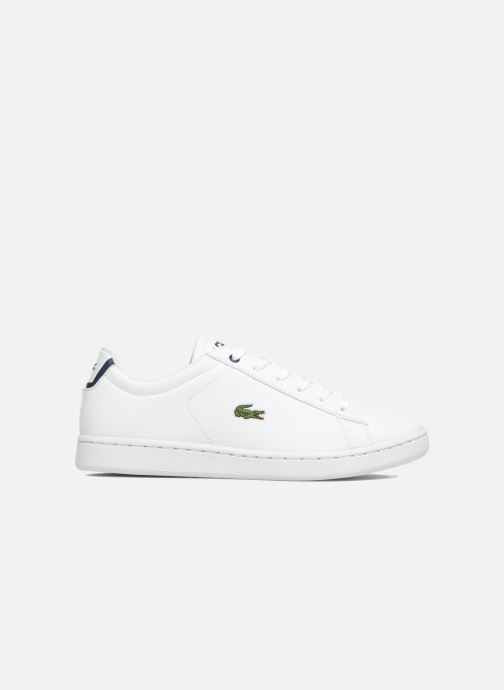 Sneaker Lacoste Carnaby Evo BL 1 Kids weiß ansicht von hinten