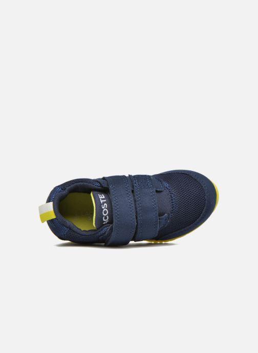 Baskets Lacoste L.ight 117 1 Spi Bleu vue gauche