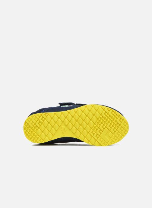 Baskets Lacoste L.ight 117 1 Spi Bleu vue haut