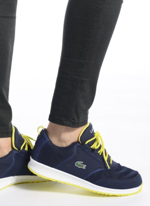 Sneaker Lacoste L.ight 117 1 Spj blau ansicht von unten / tasche getragen
