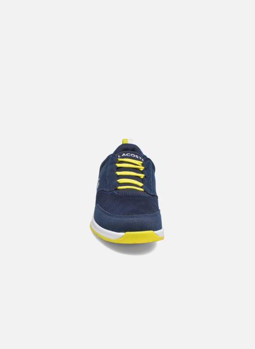 Sneakers Lacoste L.ight 117 1 Spj Azzurro modello indossato