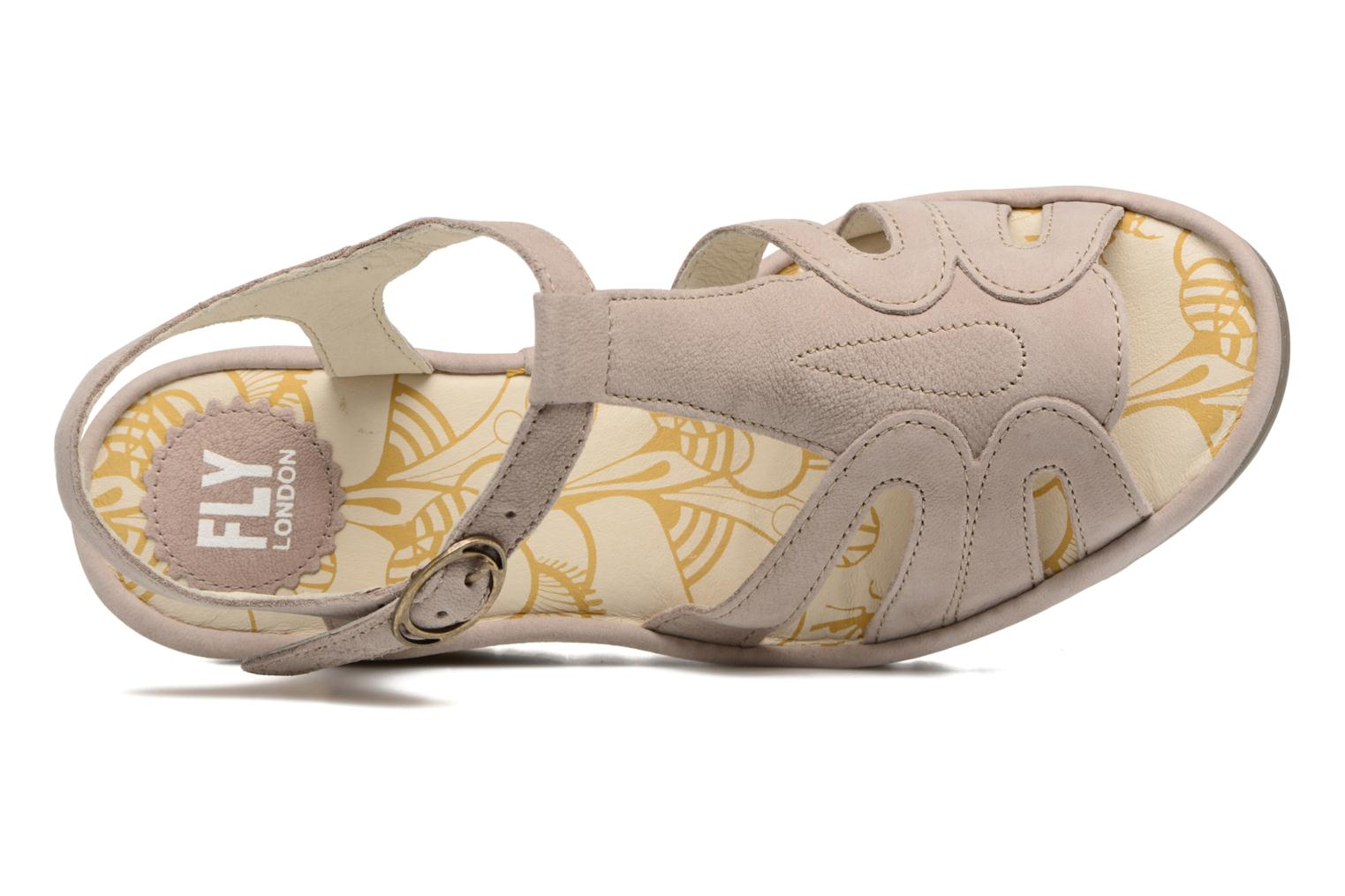 Sandalen Fly London Yini 727 Beige links