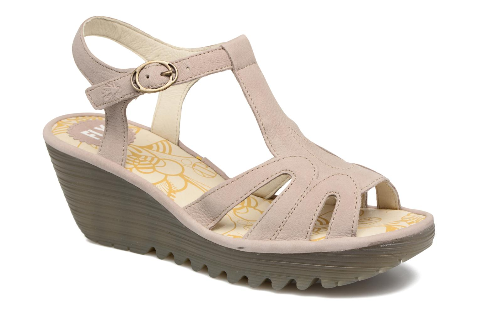 Sandalen Fly London Yini 727 Beige detail