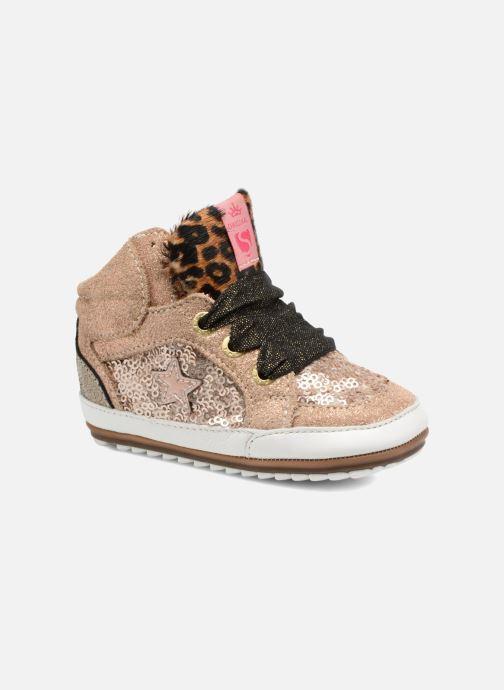 Baskets Shoesme Suzette Or et bronze vue détail/paire