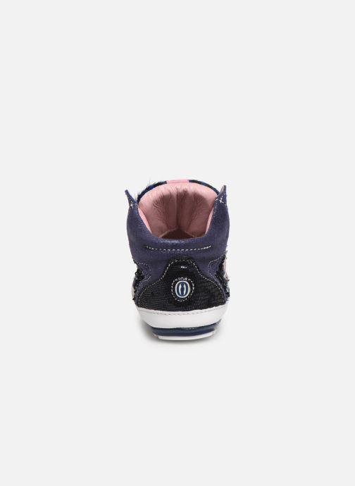 Sneakers Shoesme Suzette Blauw rechts