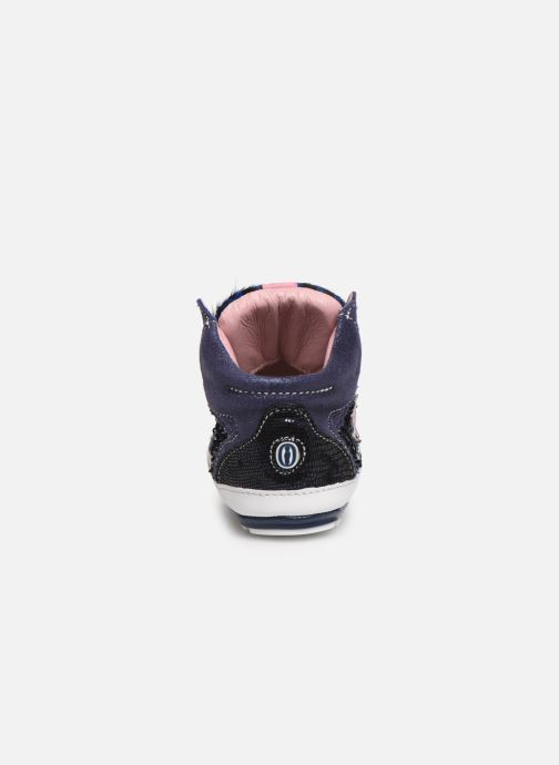 Baskets Shoesme Suzette Bleu vue droite