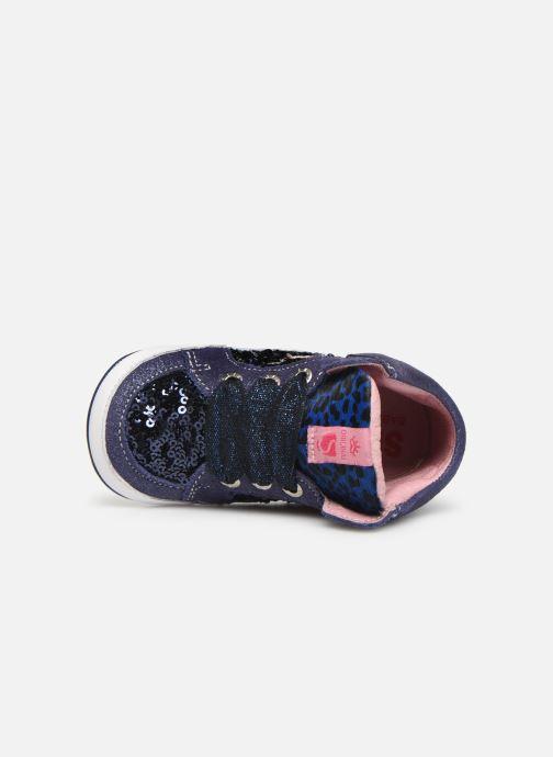 Sneakers Shoesme Suzette Blauw links