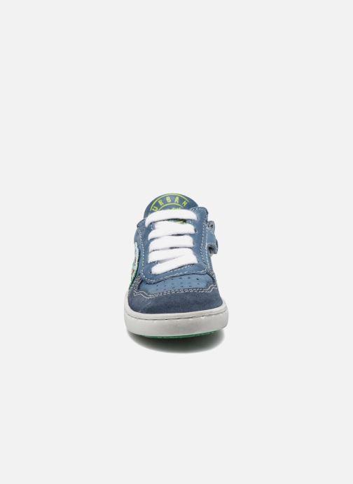 Baskets Shoesme Scott Bleu vue portées chaussures