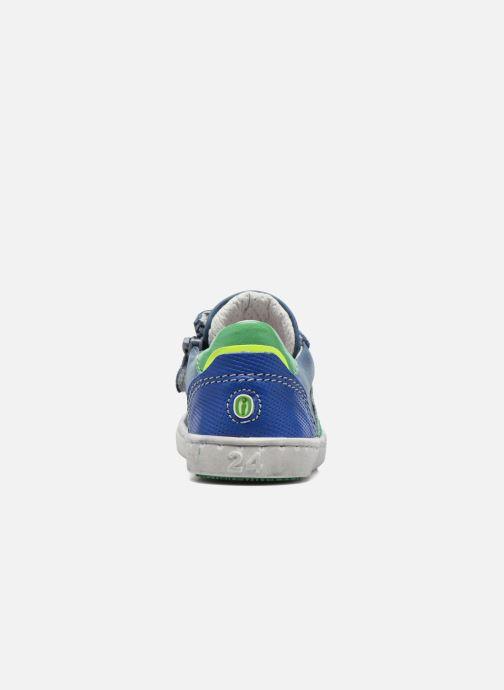 Baskets Shoesme Scott Bleu vue droite