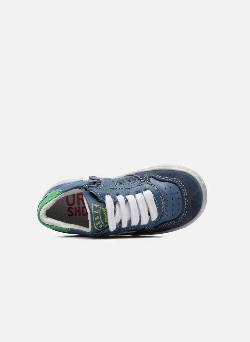 Baskets Shoesme Scott Bleu vue gauche