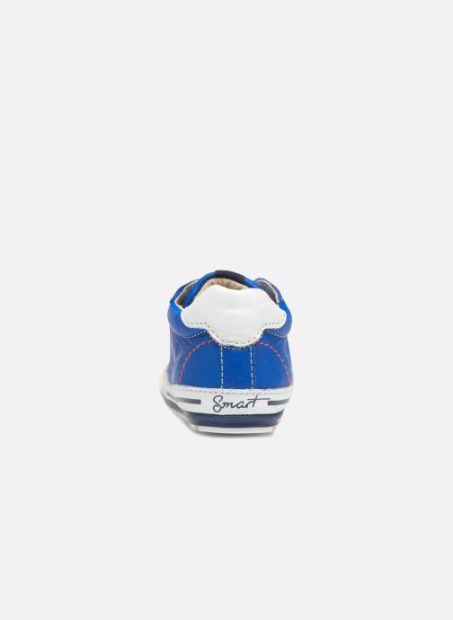 Deportivas Shoesme Stan Azul vista lateral derecha
