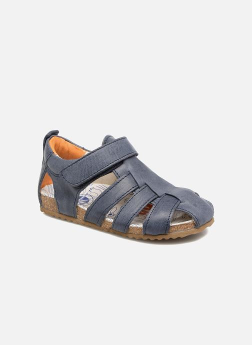 Sandaler Shoesme Stuart Blå detaljerad bild på paret