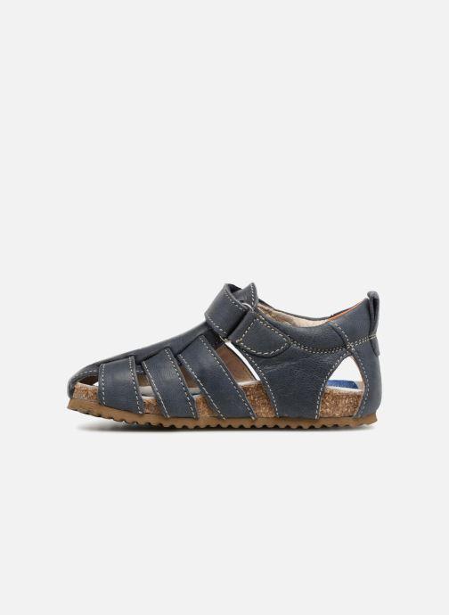 Sandaler Shoesme Stuart Blå se forfra
